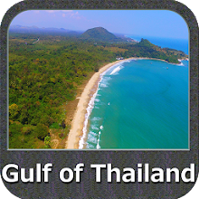 Gulf of Thailand - Bangkok GPS Nautical Charts Download on Windows