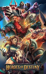 Game Heroes of Destiny: Fantasy RPG, raids every week APK for Windows Phone