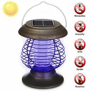 Felinar solar antiinsecte zburatoare, lumina UV