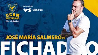 José María Salmerón vuelve al UCAM Murcia.