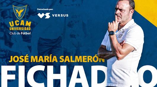José María Salmerón vuelve al UCAM Murcia