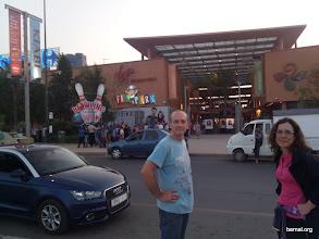 Photo: Una parada en el Carrefour de Marrakech