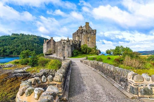 La route des châteaux d'ecosse