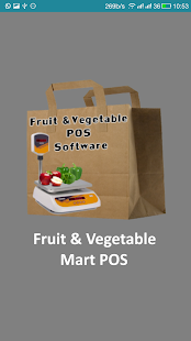 Fruit & Vegetable Mart POS - náhled