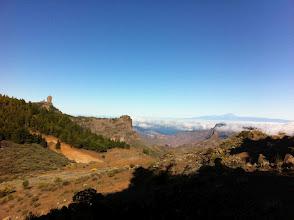 Photo: Se veia un poquito la Gomera