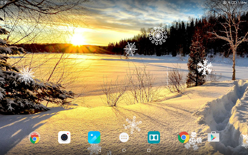 Winter Landscapes Wallpaper- screenshot thumbnail
