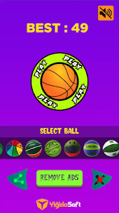 Download Flappy Basket For PC Windows and Mac apk screenshot 1