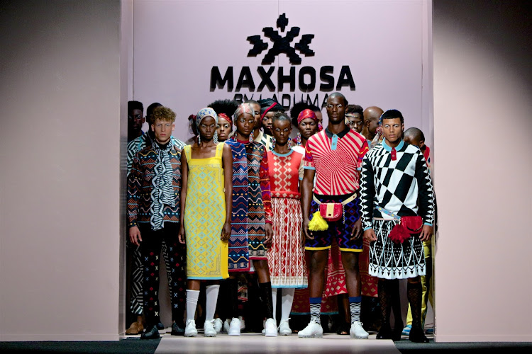 Looks from the MaXhosa by Laduma show at AFI Joburg Fashion Week 2018.