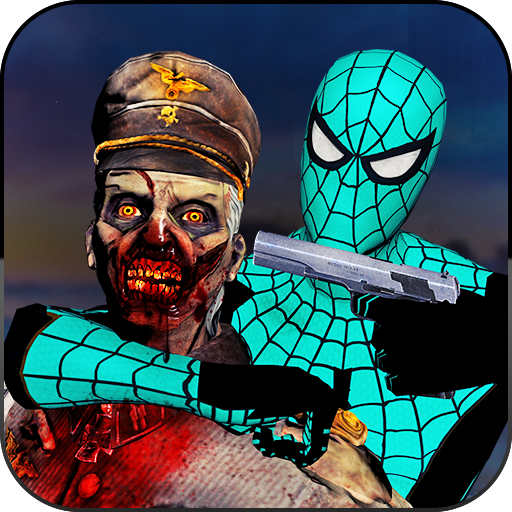 Spider Hero Zombie Shooter - City Survival Game