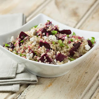 Quinoa and Roasted Beet Salad.