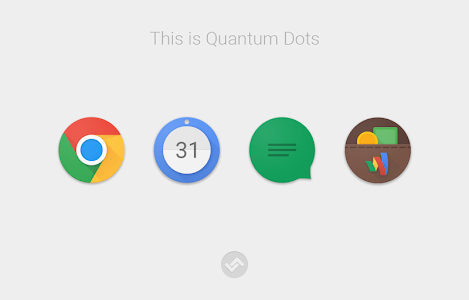 Quantum Dots - Icon Pack v1.1.1