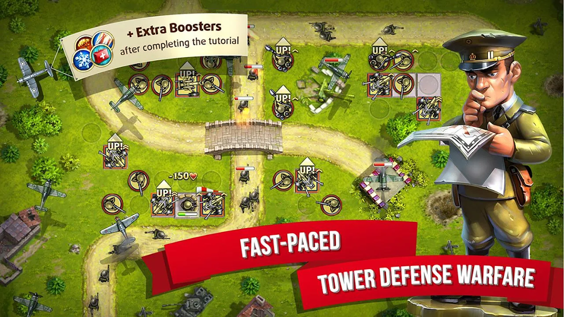 Toy Defence 2 — Tower Defense game Android App Screenshot