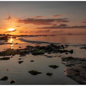 Southend, Kintyre by Chris Duffy - Landscapes Sunsets & Sunrises ( sunrise, seascape, beach, sun, sea, morning )