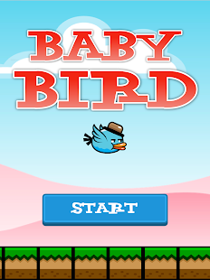 Baby Bird flies in the Sky screenshot