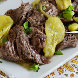 Crock-Pot Mississippi Chuck Roast Recipe