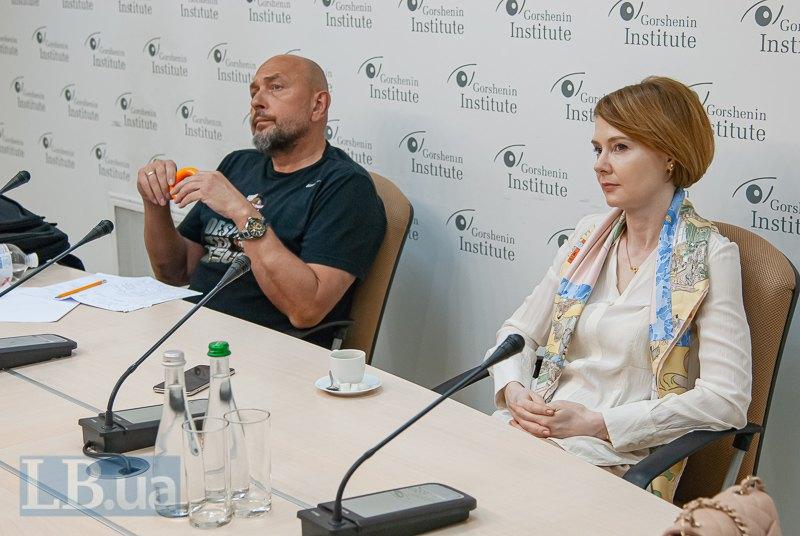 Лана Зеркаль и Игорь Диденко
