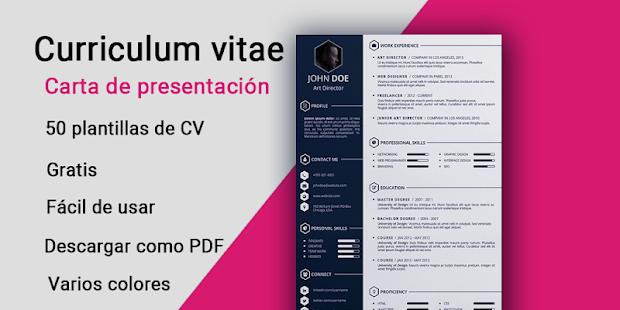 Curriculum Vitae Gratis Modelos Cv Plantillas Pdf Apps En Google Play