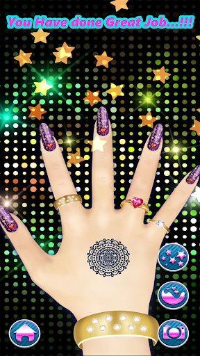 Fashion Nail Art Design & Coloring Game filehippodl screenshot 5