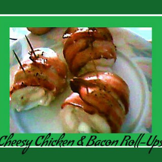 Cheesy Chicken and Bacon Roll-Ups