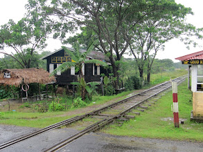 Photo: Year 2 Day 59 - The Infamous Thai Burma Railway (Built by Forced Labour)