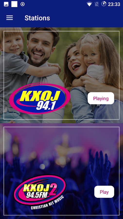 KXOJ- screenshot