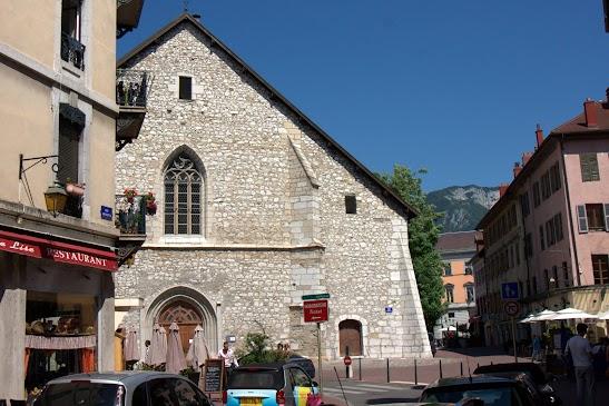 Туристический маршрут по Анси - церковь св. Мориса, Анси