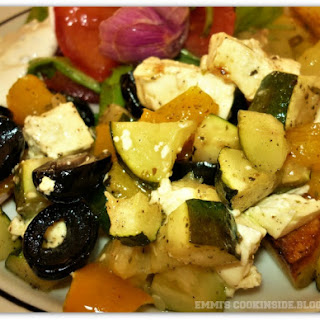 Roasted Vegetables With Feta Cheese Recipes