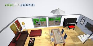 screenshot of 3D Floor Plan | smart3Dplanner