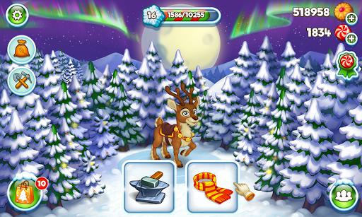Farm Snow: Happy Christmas Story With Toys & Santa screenshots 12