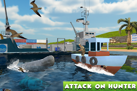 Hungry Whale Attack Simulator - náhled