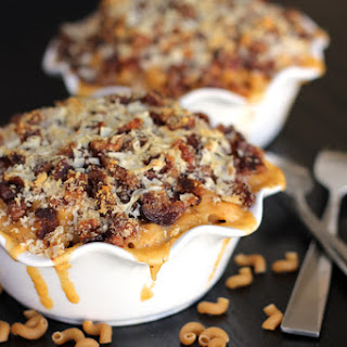 Bacon-Crusted Beer Mac-and-Cheese