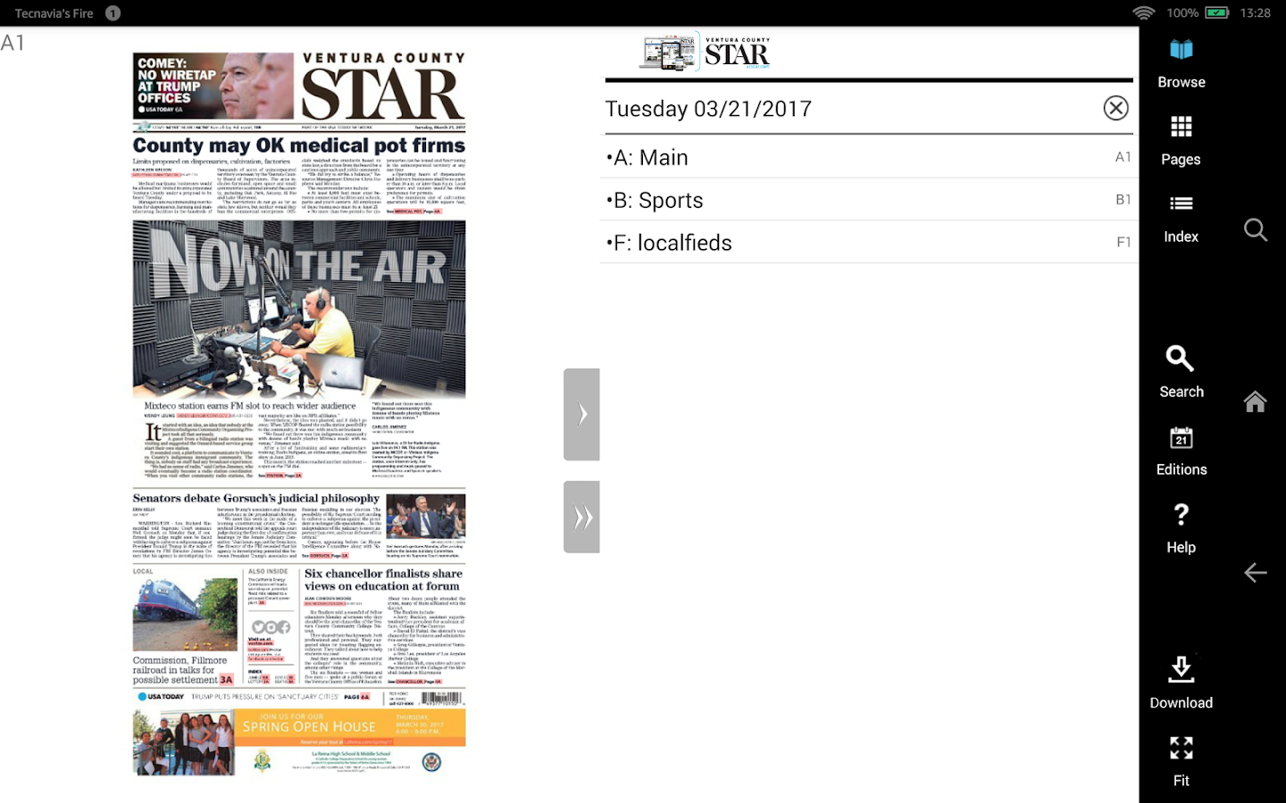 Ventura County Star Print- screenshot