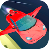 Flying Car Simulator 2018: Air Stunts