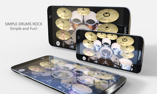 Game Simple Drums Rock - Realistic Drum Set APK for Windows Phone