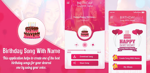 Happy Birthday Song with Name - Apps on Google Play
