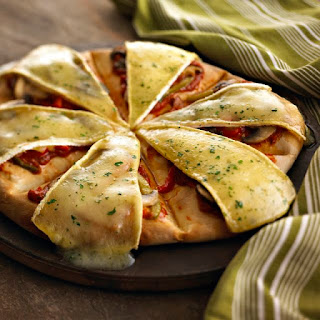 Garlic and Herb Brie Stromboli