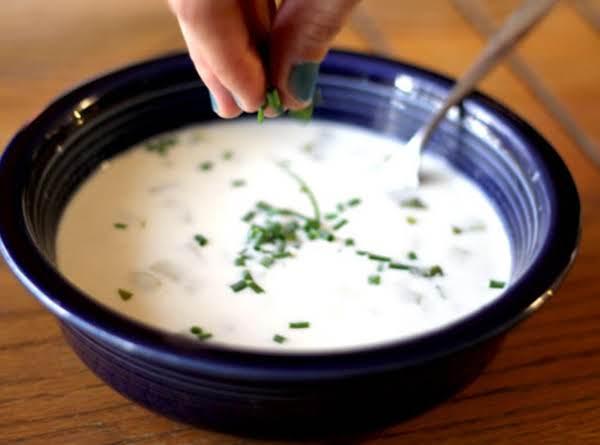 Potato Soup With Roasted Garlic Recipe
