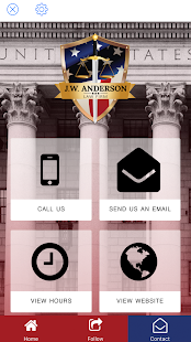 J.W. Anderson Law Firm- screenshot thumbnail