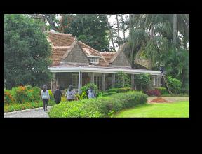 Photo: Karen Blixen Farmhaus (Jenseits von Afrika)