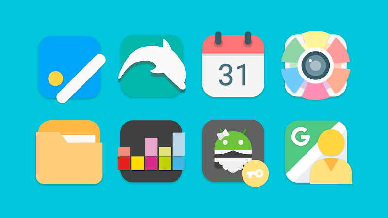 Flat Evo - Icon Pack Screenshot 6