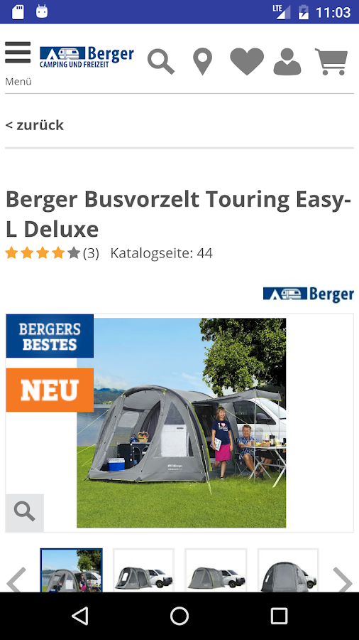 Fritz Berger - Camping- screenshot