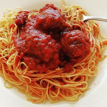 Best Meatballs & Spaghetti