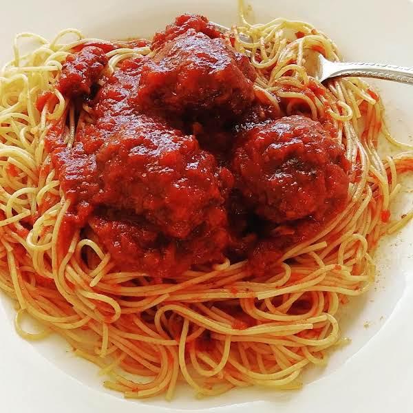 Best Meatballs & Spaghetti Recipe