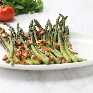 Bacon & Garlic Asparagus Recipe