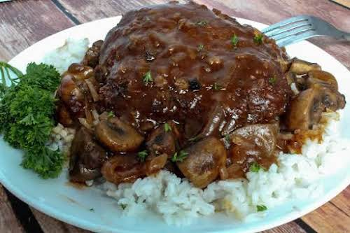 """Family Favorite Swiss Steak With Tomato Gravy""""Having come from a large family,..."""