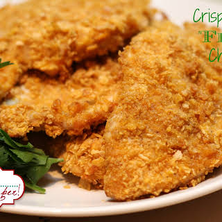 Crispy Oven Fried Chicken.