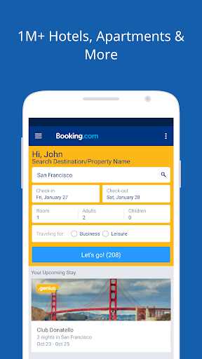 Booking.com Travel Deals app (apk) free download for Android/PC/Windows screenshot