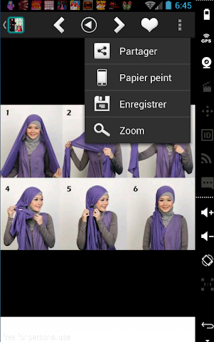 android Mode Hijab 2016 et tutoriels Screenshot 9
