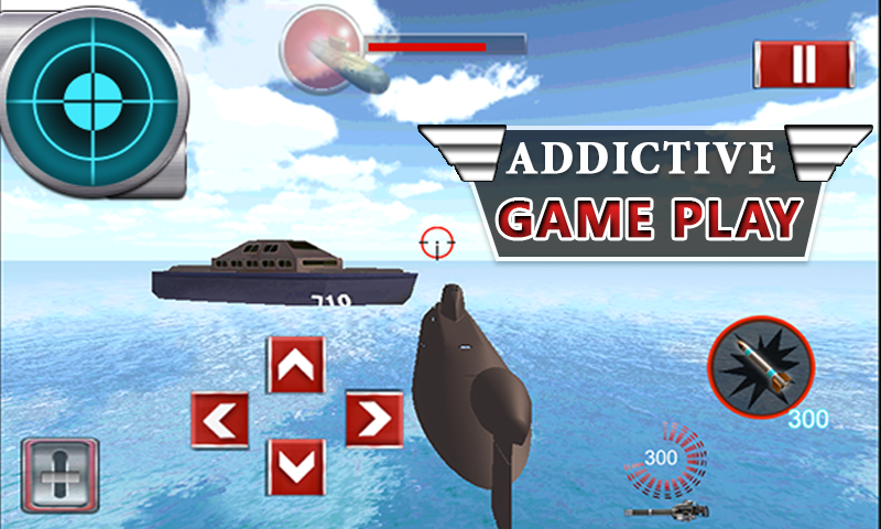 Submarine Navy War 3D- screenshot