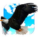 Flying Eagle Live Wallpaper icon